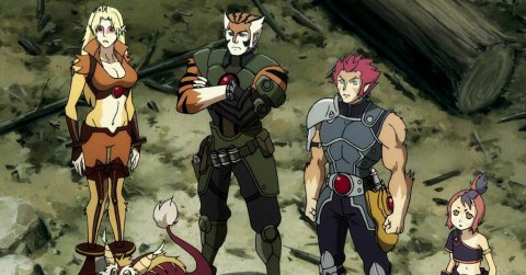 Thunder Cats Hentai on Thundercats Episode  05     Old Friends Review   The Fandom Post