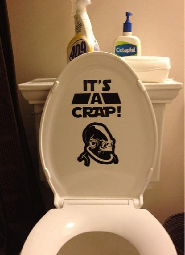 As I Was Hunting For Bathroom Items, I Stumbled Upon A Tumblr Site Entirely  Devoted To Star Wars Bathroom Décor And Accessories.
