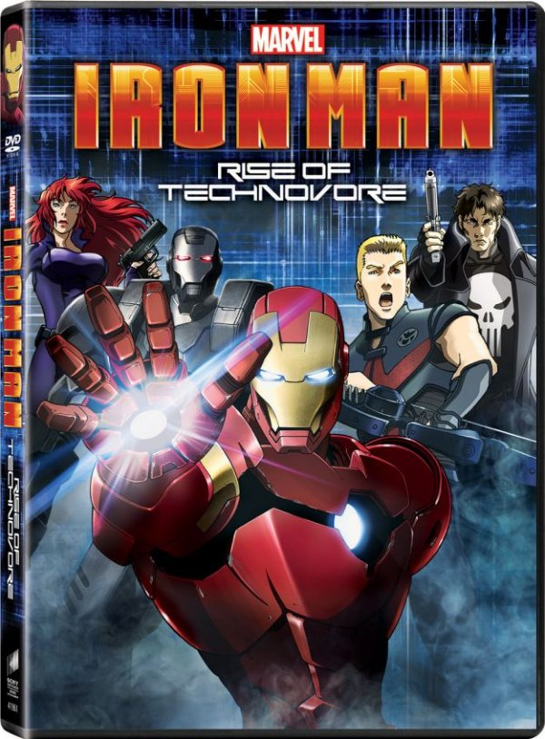 Iron Man Rise Of Technovore Cover