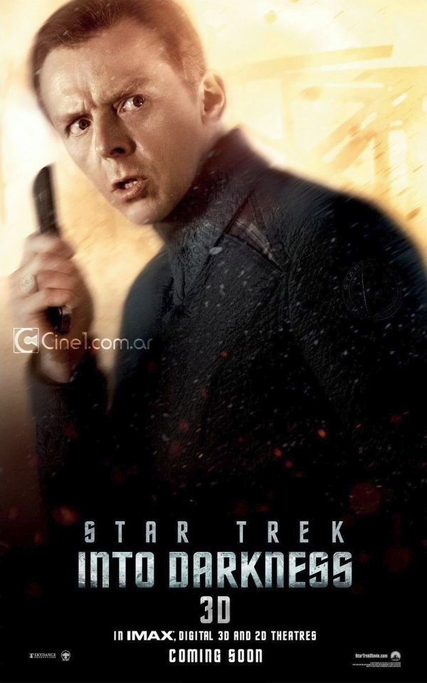 Star Trek Into Darkness Simon Pegg 2