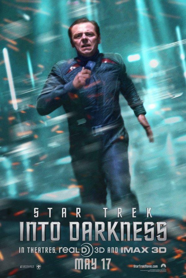 Star Trek Into Darkness Simon Pegg