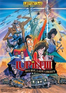 Lupin the 3rd By Bye Liberty Crisis DVD