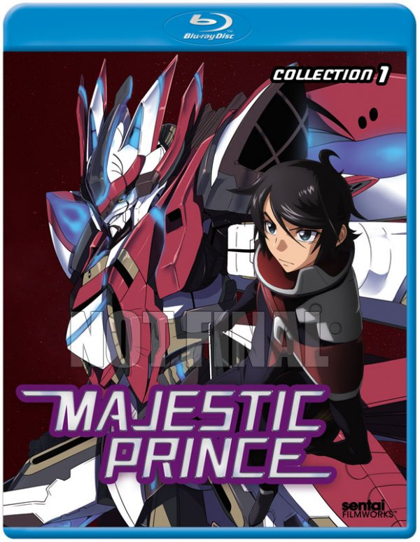 Majestic Prince Collection 1 Blu-ray Not Final