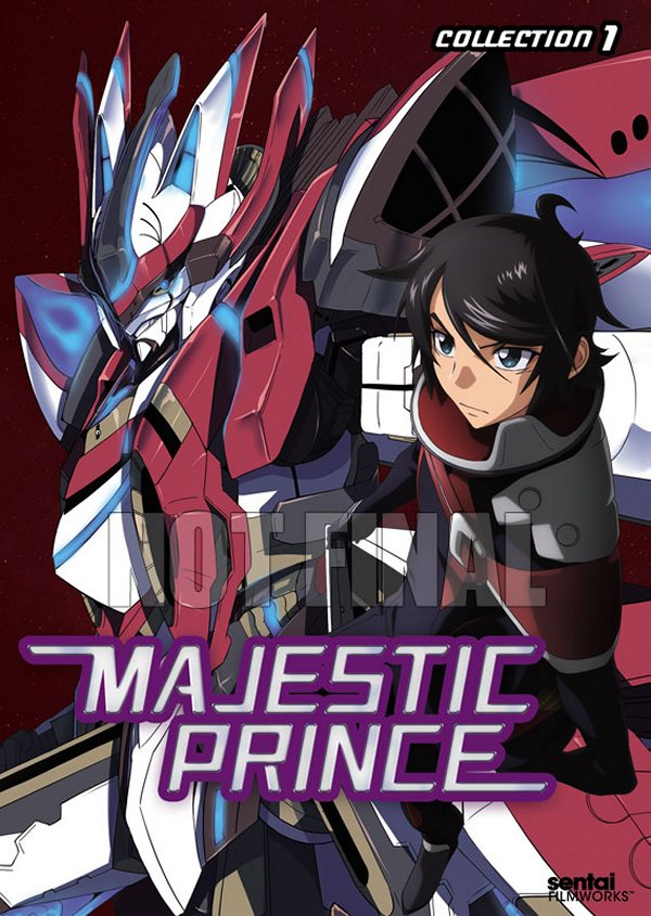 Majestic Prince Collection 1 DVD Not Final