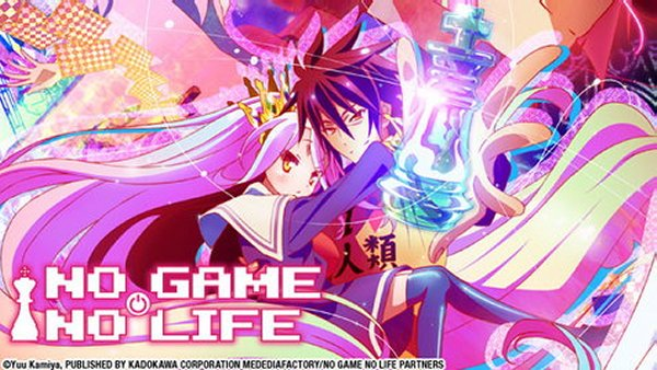 No Game No Life Hulu Header