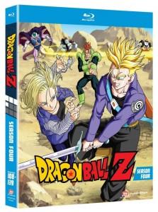 Dragon Ball Z Season 4 Cover