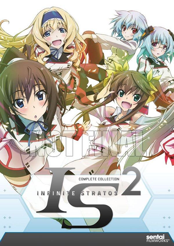 Infinite Stratos II DVD
