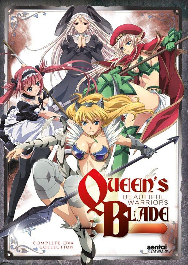 Queen's Blade Beautiful Warriors DVD