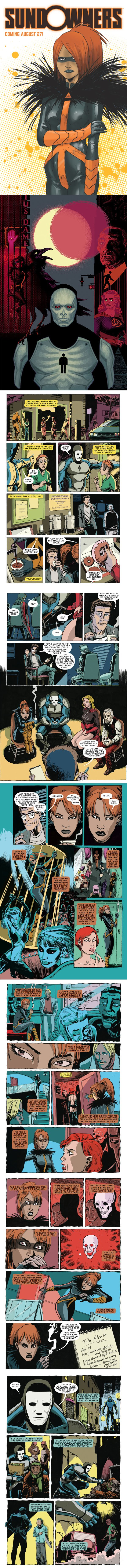 Sundowners Issue 1 Preview