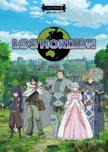 Log Horizon Season 1 DVD Front