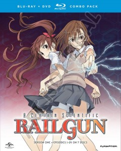 A Certain Scientific Railgun Season 1 Blu-ray