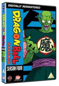 Dragon Ball Season 4 UK DVD