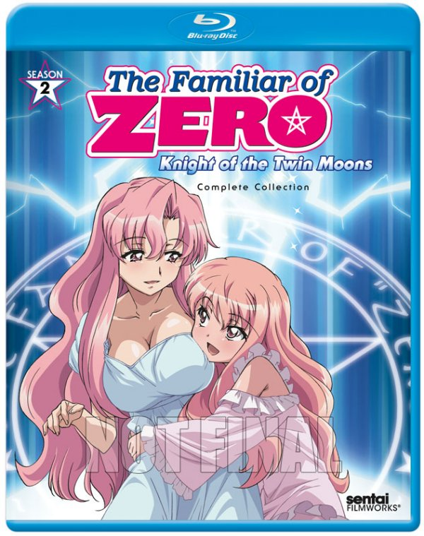Familiar Of Zero - Knight of the Twin Moons Blu-ray Not Final