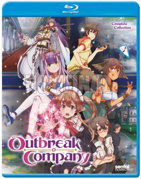 Outbreak Company Blu-ray Not Final