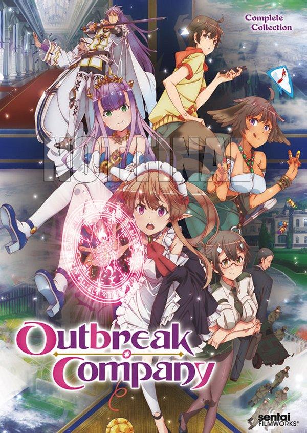 Outbreak Complete DVD Not Final