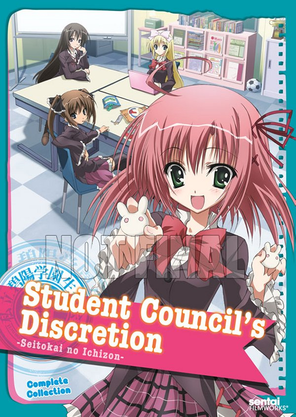 Student Council's Discretion DVD Not Final
