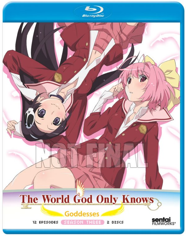 The World God Only Knows - Goddesses Blu-ray Not Final