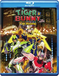 Tiger & Bunny - The Rising Blu-ray Front