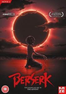 Berserk 3 UK Cover