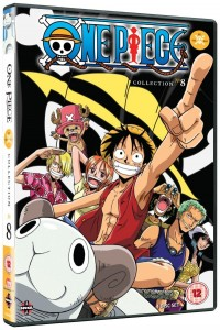 One Piece Collection 8 UK Cover