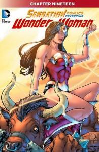 Sensation Comics Issue 19 Cover