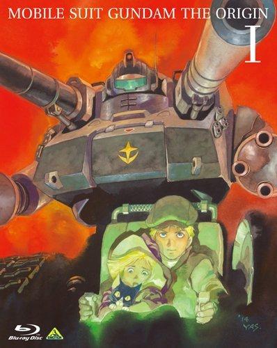 Mobile Suit Gundam The Origin Japanese Volume 1 Blu-ray (Flat Version)