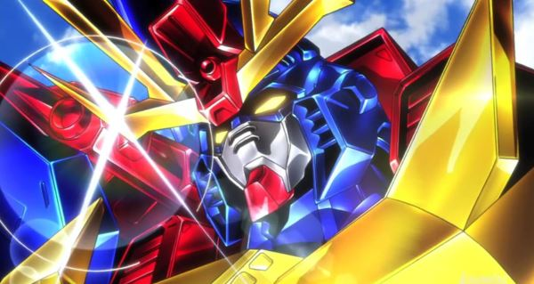 Gundam build fighters try episode 16 anime review for Domon gundam build fighters try