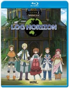 Log Horizon Collection 2 BD Cover