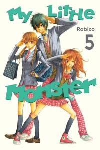 My Little Monster Volume 5 Cover