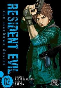 Resident Evil Marhawa Volume 2 Cover