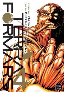 Terraformars Volume 4 Cover
