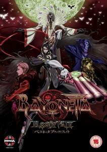 Bayonetta Bloody Fate UK Cover