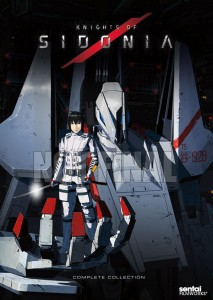Knights of Sidonia Season 1 DVD Not Final