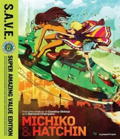 Michiko & Hatchin Blu-ray Cover