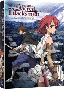Sacred Blacksmith Complete Collection DVD Cover