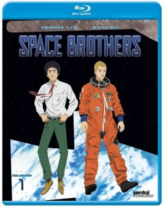 Space Brothers Collection 1 Blu-ray Cover