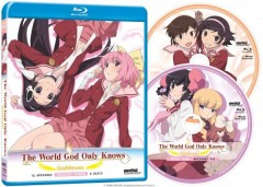 The World God Only Knows Goddesses Blu-ray Packaging