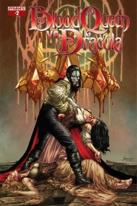 Blood Queen Vs Dracula Issue 2 Cover