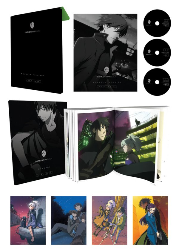 Darker Than Black Premium Edition Packaging Opened