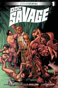 Doc Savage Altered States Cover
