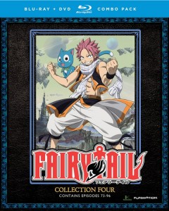Fairy Tail Collection 4 Cover