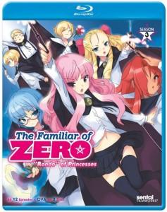 Familiar of Zero Season 3 Blu-ray Front Cover