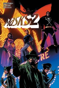 Masks 2 Issue 1 Cover