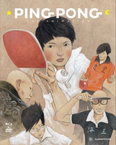 Ping Pong The Animation Cover