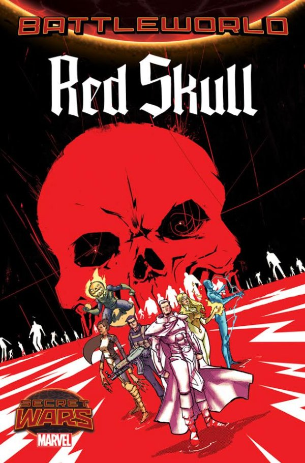 Red Skull Issue 1 Cover