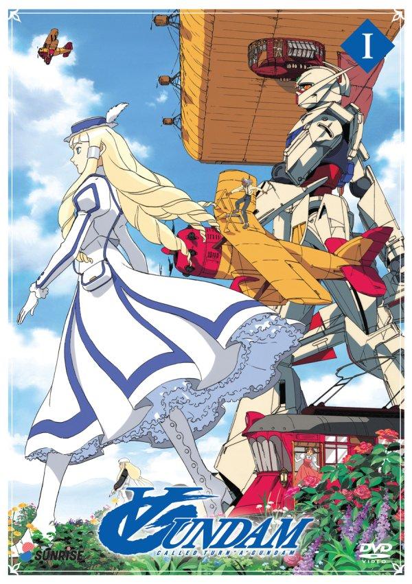 Turn A Gundam Part 1 DVD Cover