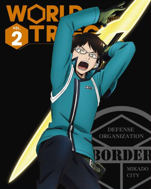 World Trigger Japanese Volume 2 Limited Edition Package