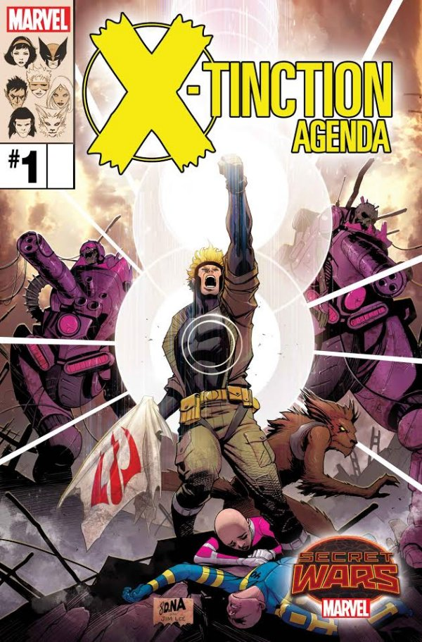 X-tinction Agenda Issue 1 Cover