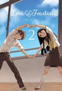 Love at Fourteen Volume 2 Cover