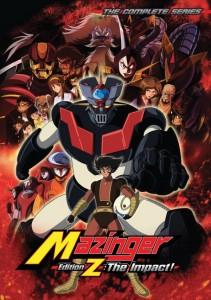 Mazinger-Z Impact Cover